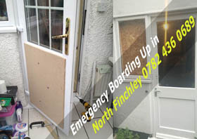 Emergency Boarding Up in North Finchley