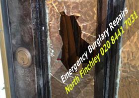 Emergency Burglary repairs in North Finchley