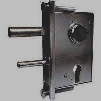 AMF 107 Gate Lock Medium-weight wrought-iron gate lock