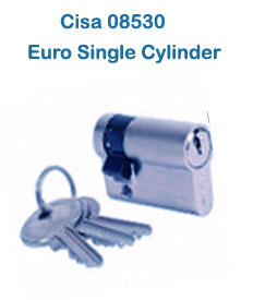 Cisa 08530 Euro Single Cylinder