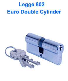 Legge 802 - Euro Double Cylinder