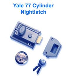 Yale 77 and 706 Cylinder Nightlatch - ABC Locksmiths